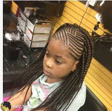 hair braiding styles long hair hang back kids cornrows with single plait at the back braids pinterest