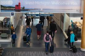 grand rapids mi airport michigan airport shatters all time passenger record mlive com