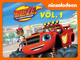 monster truck video games amazon com blaze and the monster machines volume 1 nolan north
