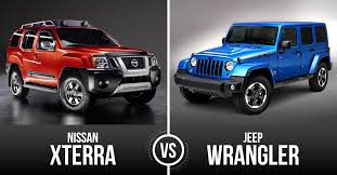 vehicles comparable to jeep wrangler best all terrain vehicle jeep wrangler vs nissan xterra