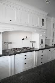 Metal Kitchen Backsplash Kitchen Kitchen Handles On Shaker Cabinets With White Sink And