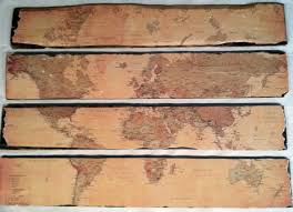World Map Wood Wall Art by Map Wall Art The Thrifty College House