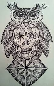 36 best sugar owl tattoo outline images on pinterest drawing