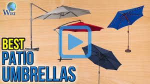 Ebay Patio Umbrellas by Top 10 Patio Umbrellas Of 2017 Video Review