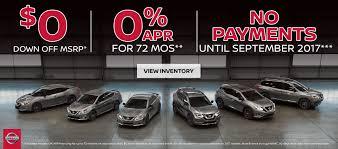 nissan frontier zero percent financing auto land motors