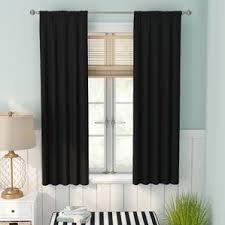 Single Panel Window Curtain Designs Single Panel Curtains U0026 Drapes You U0027ll Love Wayfair