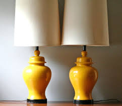 table lamps yellow table lamps modern retro floor lamps on