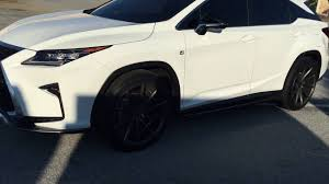 lexus rx 350 new model 2016 2016 lexus rx 350 on vossen cvt youtube