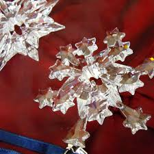 buy past or retired annual swarovski snowflake christmas ornaments