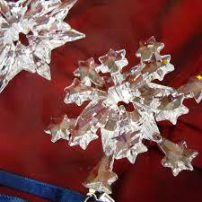 Swarovski Christmas Snowflake Ornaments by Buy Past Or Retired Annual Swarovski Snowflake Christmas Ornaments