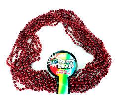mardi gras beeds mardi gras bead necklaces in your color war team colors