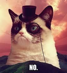 Make Your Own Grumpy Cat Meme - grumpy cat top hat
