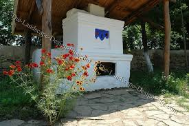 southwest outdoor fireplace ideas