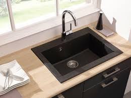 evier de cuisine noir evier 1 bac à encastrer diadem hexo smc coloris noir evier