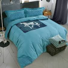 Bedding Sets Ikea by Summer Style 100 Cotton Ikea Simple Fashion 4pc Horse Bedding