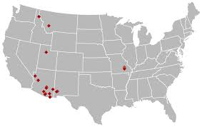 Superfund Sites Map by Lists Of Copper Mines In The United States Wikipedia