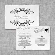 postcard wedding invitations delightful postcard wedding invitations for additional charming
