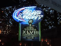 bud light neon signs for sale neon beer sign bud light seattle seahawks super bowl xlviii