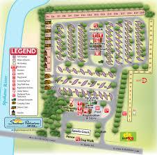 Spokane Wa Map Spokane Koa Find Campgrounds Near Spokane Valley Washington