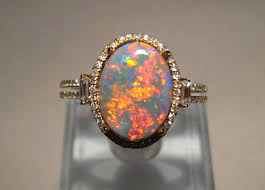 black opal mens ring semi black opal and diamond ring black opal opal rings and diamond