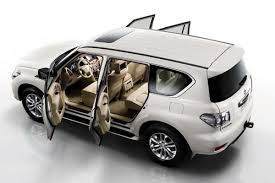 nissan suv white 2011 nissan patrol suv officially revealed more upscale and with