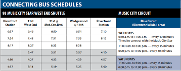 middle tennessee rta schedules rta schedules