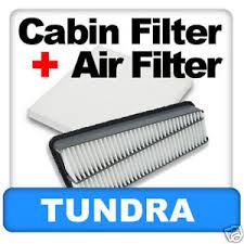 2007 toyota tundra filter toyota tundra v6 cabin engine air filter 2007 2010 v6 ebay
