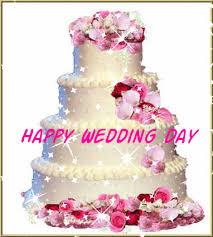 wedding wishes gif wedding day cake