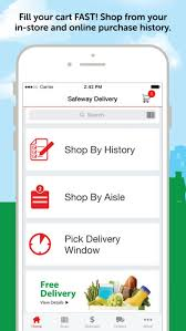 shop by safeway online shopping on the app store
