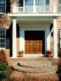 colonial front porch designs entry porch designs