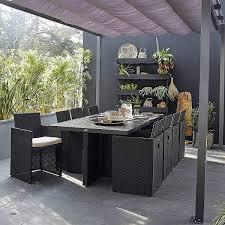 canape de jardin en resine tressee pas cher jardins awesome salon jardin résine tressée pas cher salon