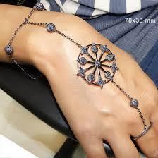 bracelet fashion design images Jewels 925 sterling silver jewelry slave bracelet harness jpg