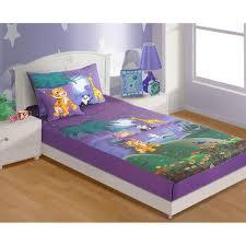 swayam cotton single kids bed sheet set sbk140moonlight kids