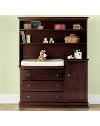 Espresso Changing Table Big Deal On Savanna Changing Table Or Hutch Espresso Brown