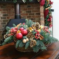 Christmas Ornaments Shop London by Winter Flower Arrangements And Seasonal Treats By
