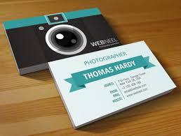10 business card design templates for photographers ai psd
