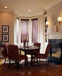 molding on walls dining room traditional with window treatments