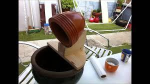 decoration avec des pots en terre cuite diy fontaine de jardin fais le toi meme youtube