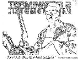 coloring pages terminator free coloring pages on masivy world