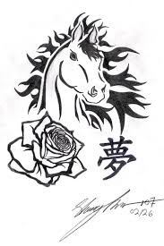 213 best horse tattoos images on pinterest drawing draw and artists