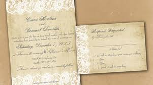 wedding a collection of rustic wedding invitation templates