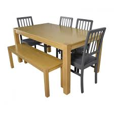 Balinese Dining Table Marvellous Wooden Dining Table With Bench Seats Mango Wood