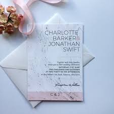 modern wedding invitations modern blush pink and grey wedding invitation claryce design