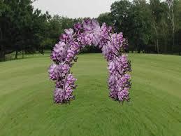 Trellis Arches Garden Second Life Marketplace Crocus Lavendar Flowers Arch Sculpty