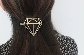boho hair accessories diamond hair clip diamond hair barrette boho hair clip