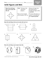 all worksheets volume and surface area of triangular prisms