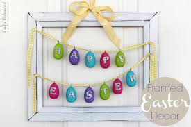 happy easter decorations 32 best diy easter decorations and crafts for 2017