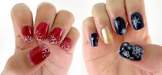 christmas themed nail art designs images