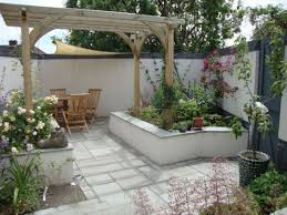 Patio Ideas For Small Gardens Lovable Small Garden Patio Ideas Small Garden Patio Designs New