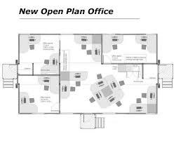 Chiropractic Office Floor Plan by Interior Open Office Floor Plan Designs Within Striking Open